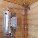 Электрическое отопление медными трубами